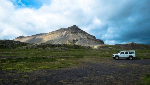 Iceland defender volcano