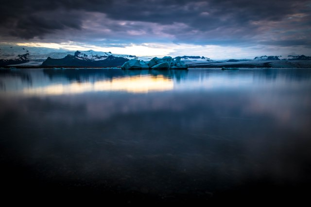 Iceland glacial horizon