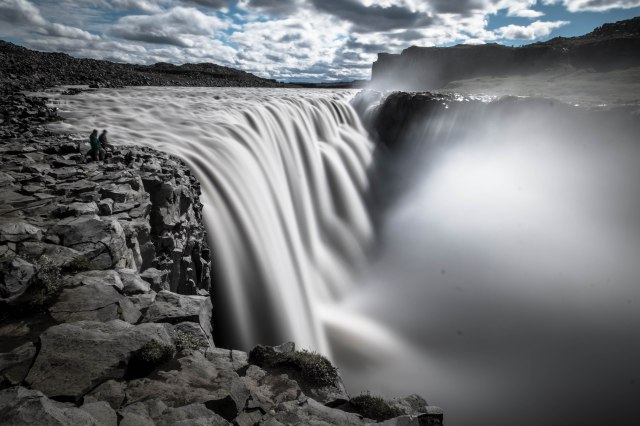 Iceland post Dettifoss slow mo